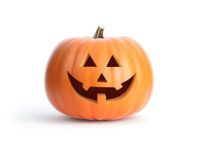 La calabaza de Halloween.