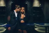 Maluma y Karol G en el videoclip de Créeme