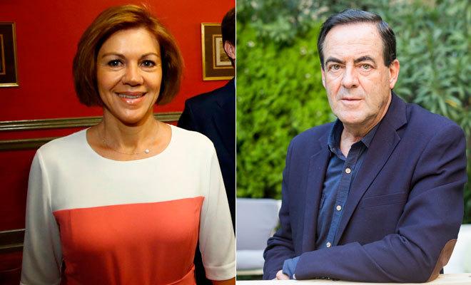 María Dolores de Cospedal y José Bono.