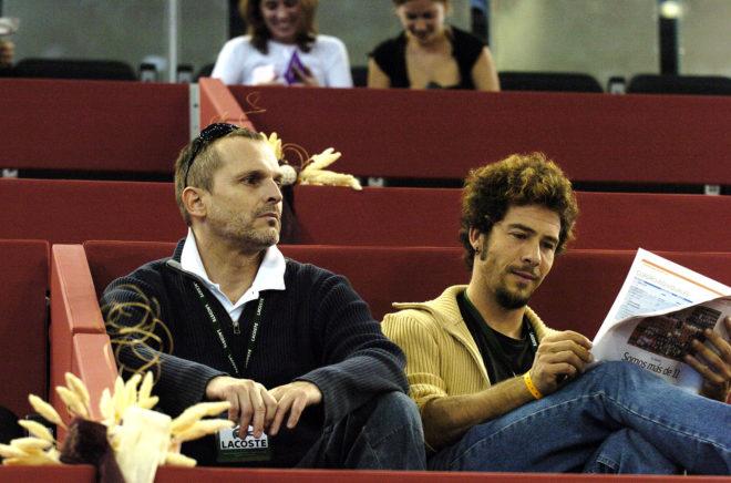 Miguel Bosé y Nacho Palau, en una imagen de 2004.