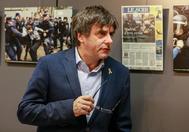 Carles Puigdemont participa en la presentación del libro 'Més Operació Urnes' en Bruselas