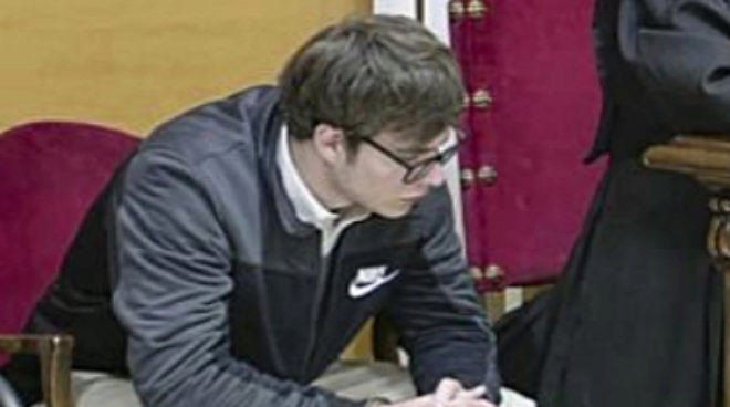 El asesino confeso del crimen de Pioz, Patrick Nogueira.
