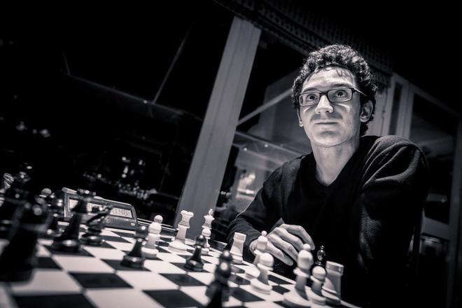 El estadounidense Fabiano Caruana, aspirante al Mundial de Ajedrez.
