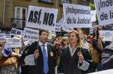 Concentración de jueces y fiscales del pasado 4 de mayo a las puertas...
