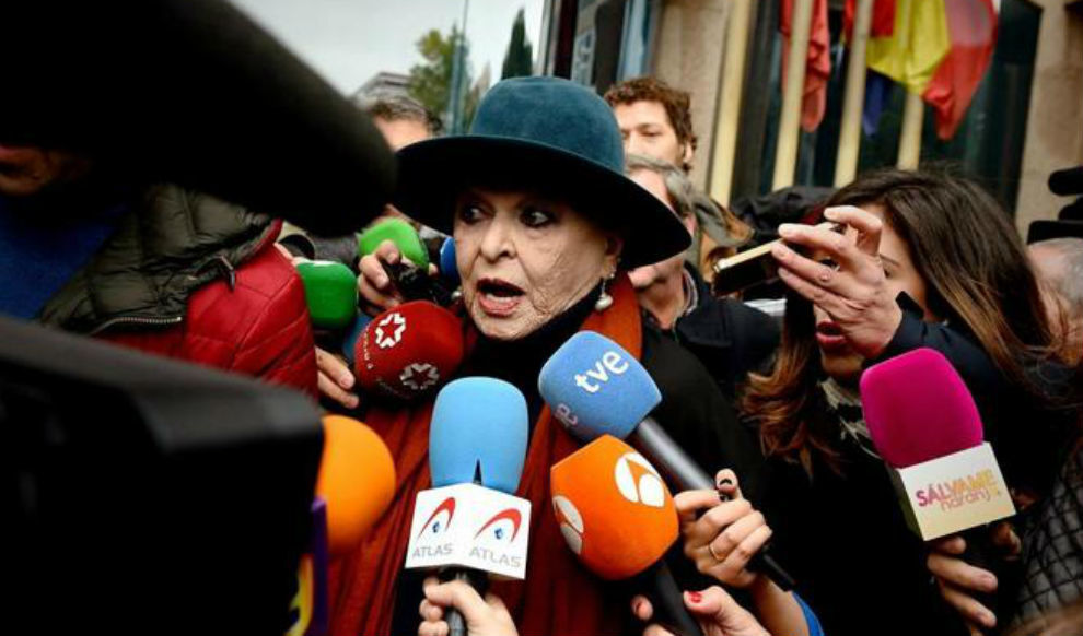 Aplazado el juicio contra Lucía Bosé tras aceptarse el testimonio de su hijo Miguel por la apropiación de un 'picasso'