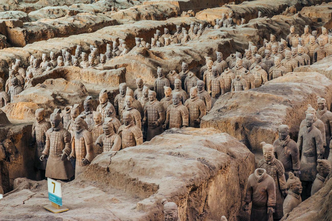 LA TUMBA DE QIN SHI HUANG (CHINA)