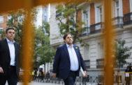 Oriol Junqueras, antes de entrar en prisión provisional
