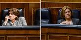La ministra de Justicia, Dolores Delgado, y la ex secretaria general...