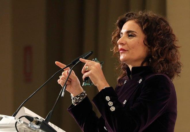 La ministra de Hacienda, María Jesús Montero, en el Foro Cinco Días.