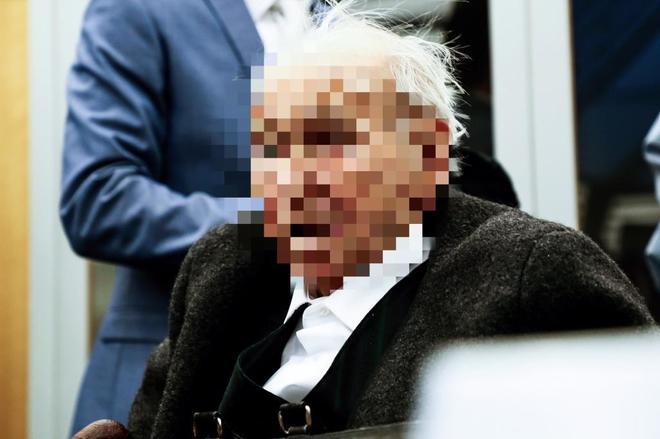 El antiguo guardia del campo de concentración nazi de Stutthof Johann...
