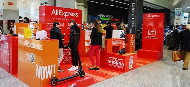 El Corte Inglés se alía con AliExpress para abrir su primera tienda efímera  en España. RAQUEL VILLAÉCIJA. Madrid a1ff032033f07