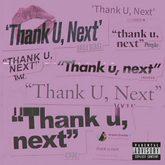 Portada del nuevo sencillo, 'Thank U, Next', de Ariana Grande.