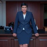 Muriel Bowser, del Partido Demócrata, alcaldesa de Washington DC.
