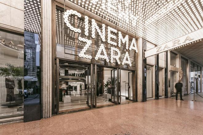La tienda más emblemática de Zara en Milán, que fue reabierta este otoño