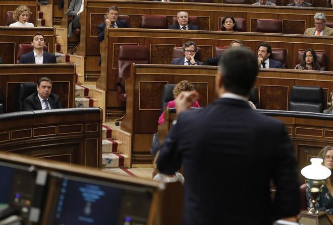 Un momento de actividad en el Congreso de los Diputados.
