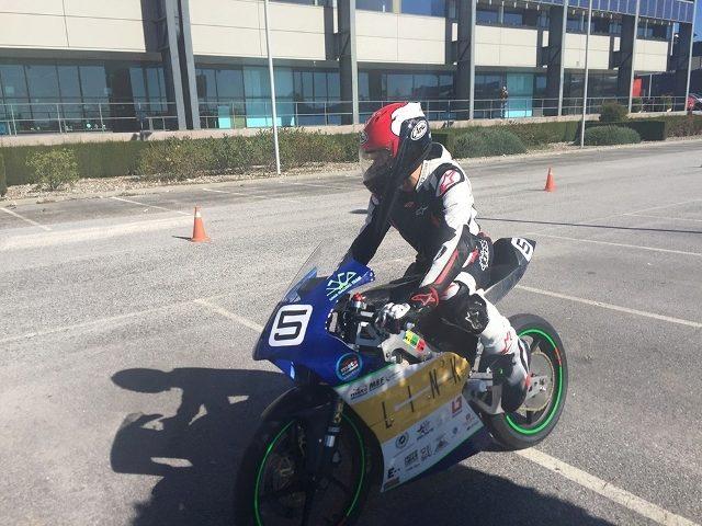 Moto desarrollada por el UMA Racing Team