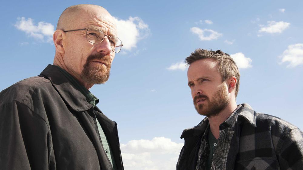 Walter White (Bryan Cranston) y Jesse Pinkman (Aaron Paul), en 'Breaking Bad'.