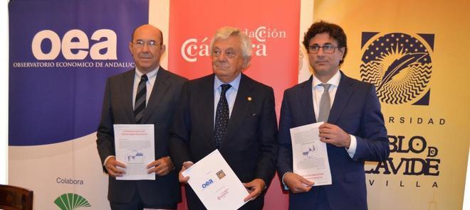 Francisco Ferraro, Francisco Herrero y Manuel Hidalgo.