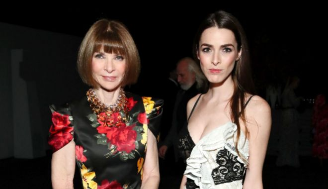 Anna Wintour y su hija, Bee Shaffer.