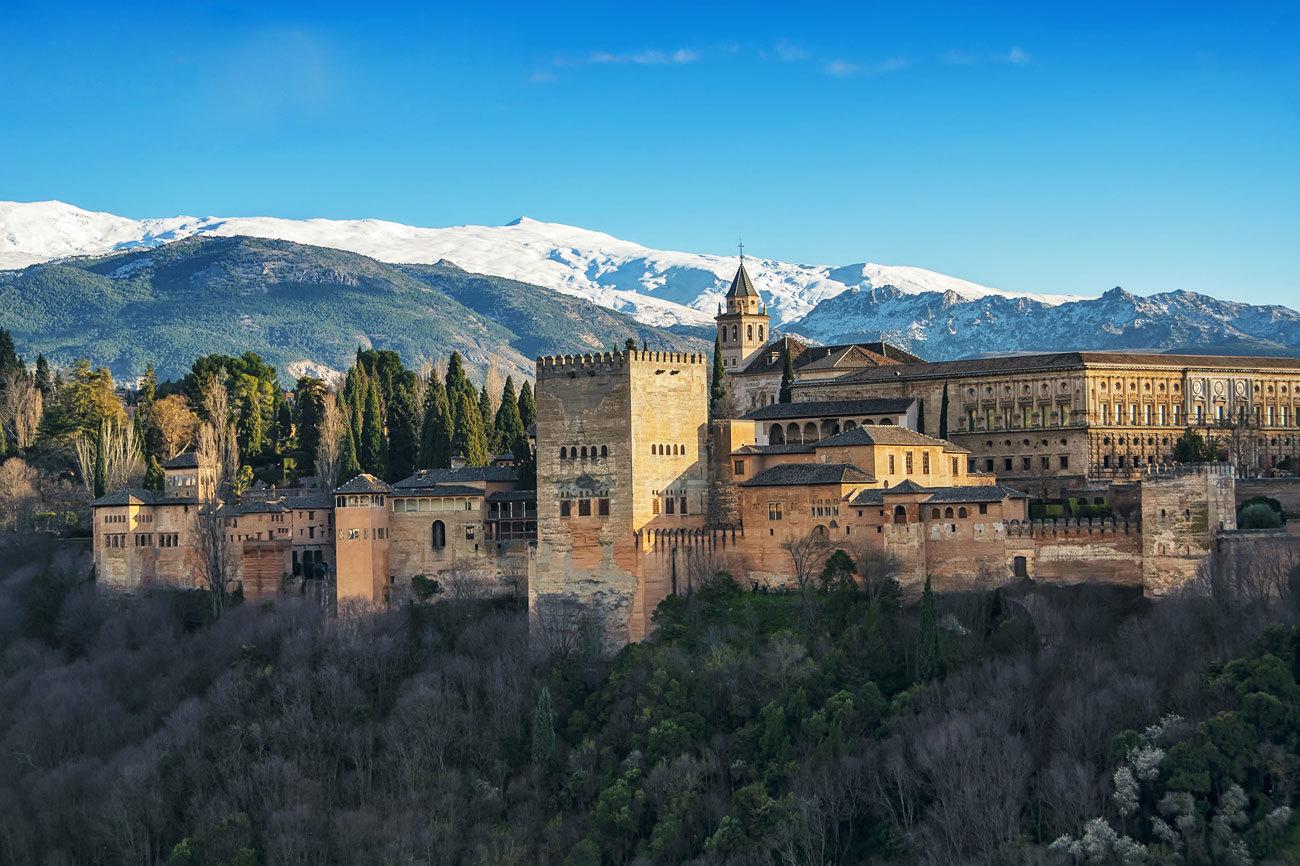 Empezamos con la Alhambra, la fortaleza militar construida en Granada...