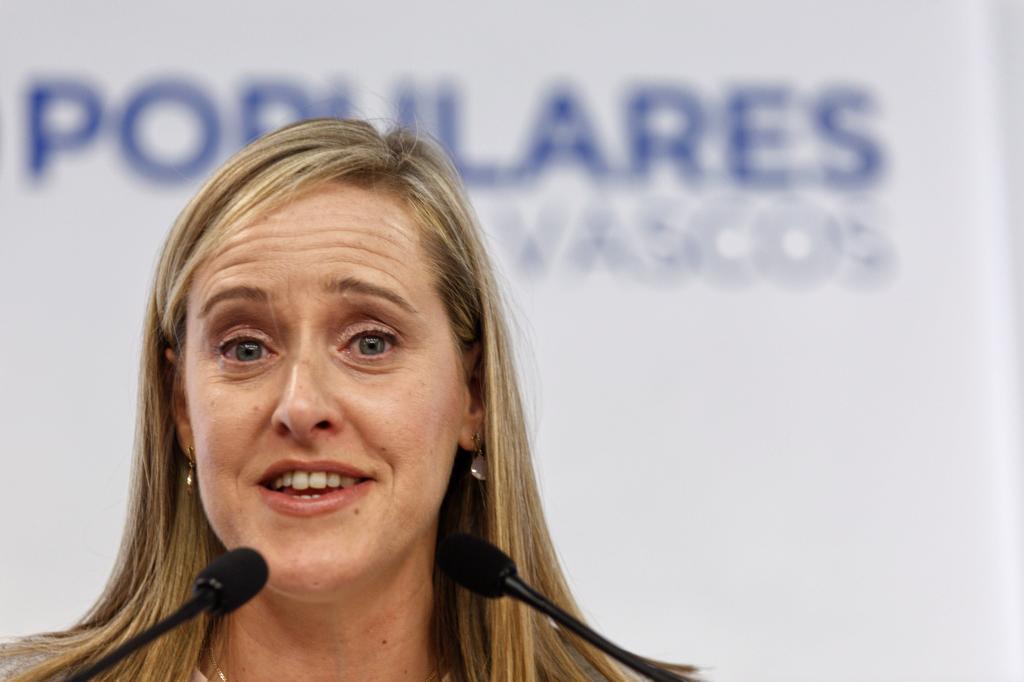 Amaya Fernández, secretario general del PP vasco.