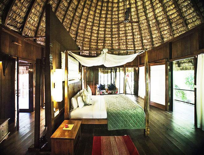 Una de las habitaciones del Barefoot Resort.