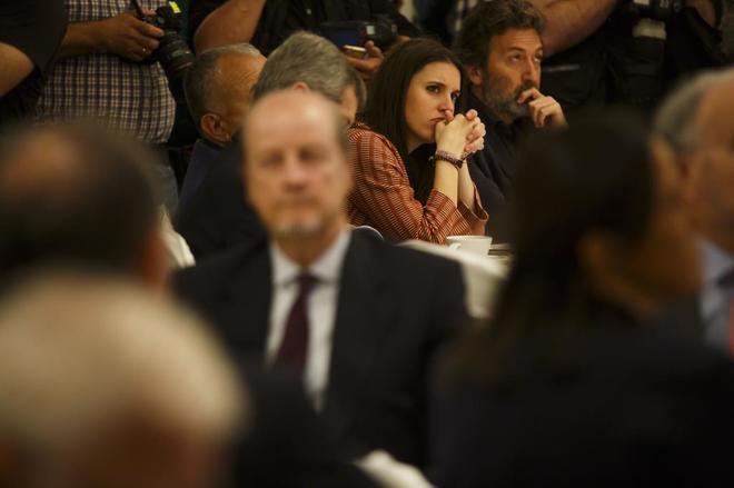 Irene Montero, en un acto celebrado en Madrid el pasado junio.