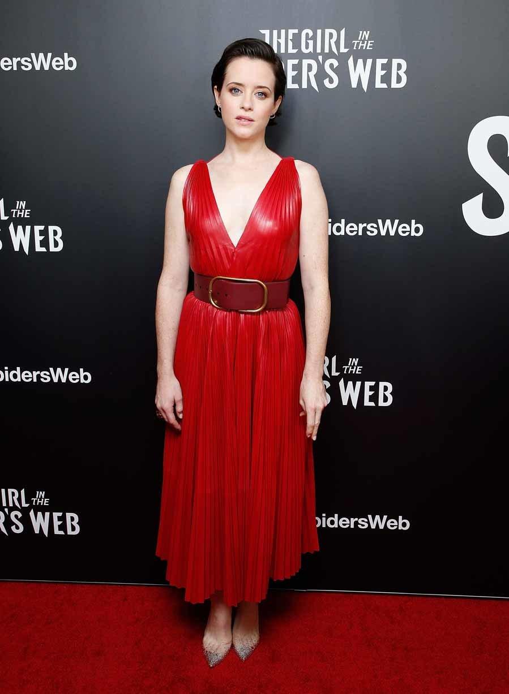 La actriz de la famosa serie The Crown, ha sido otra de las invitadas...