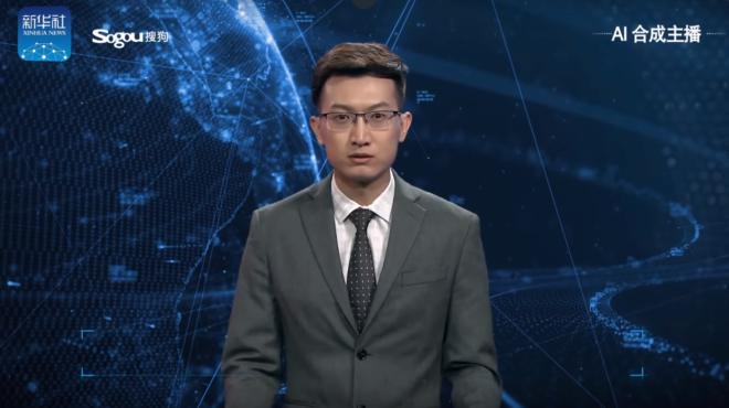 China crea un presentador de televisión con inteligencia artificial para dar las noticias durante todo el día