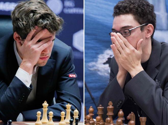 Carlsen - Caruana, el Mundial de ajedrez en directo