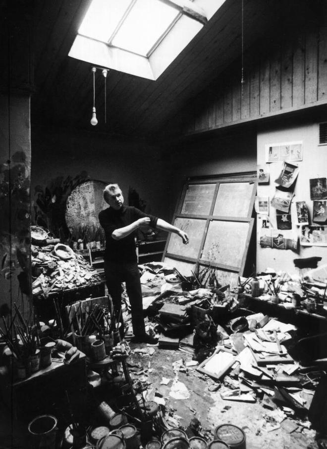 El artista y su oficina: en el estudio con Francis Bacon