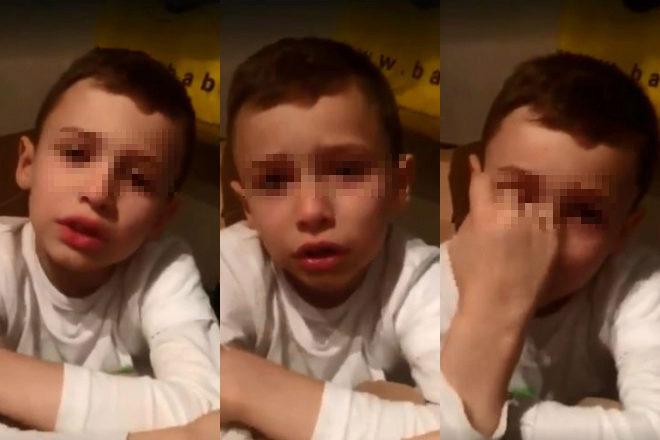 El pequeño Charlie, de siete años, cuenta el acoso diario al que se...