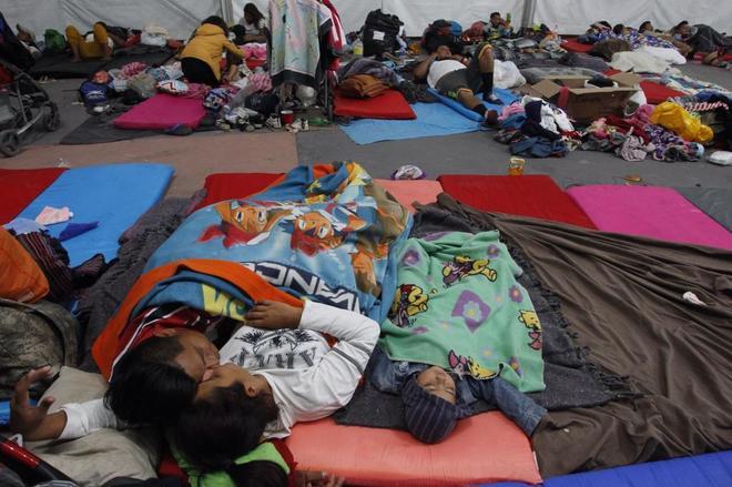 La Caravana Migrante se divide tras la negativa de la ONU a proporcionarles autobuses