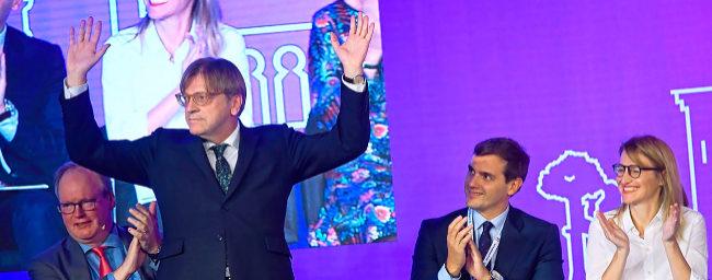 Rivera y Macron lanzan su marca para Europa