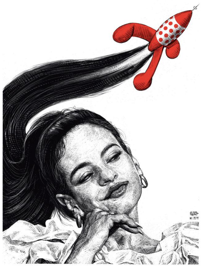 Rosalía. Vista por Ricardo Martínez y Julio Rey.