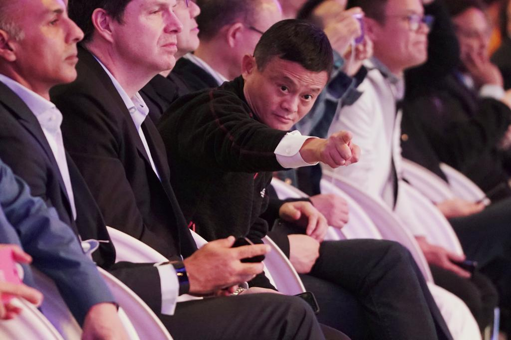 El presidente de Alibaba, Jack Ma, ayer en Shanghai.