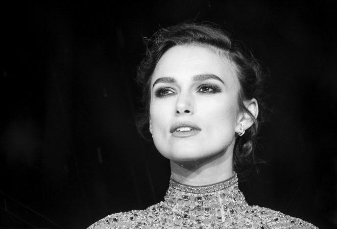 La actriz en el estreno de 'Colette'