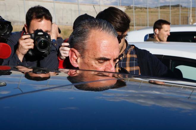 El empresario Mario Conde a su salida de prisión, el 17 de junio de 2016.