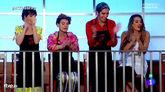 Los finalistas de MasterChef Celebrity Paz, Antonia, Mario y Ona