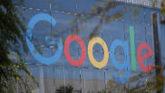 Fachada de las oficinas centrales de Google en Mountain View,...