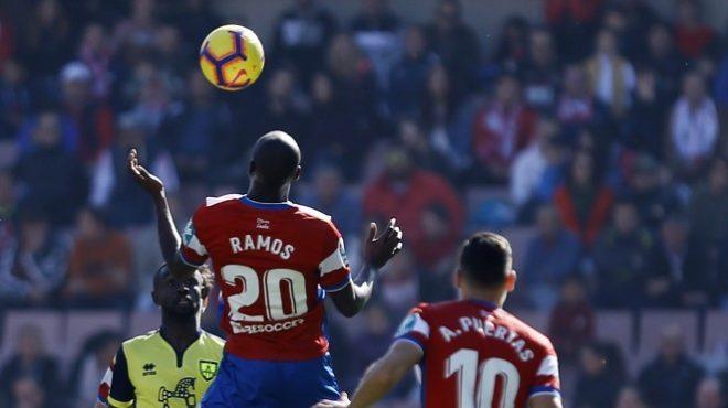 Imagen del último partido del Granada en Los Cármenes, contra el Numancia.