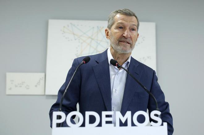 Julio Rodríguez cancela la presentación de su candidatura a las primarias de Podemos