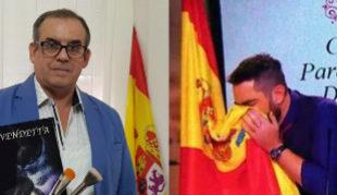 A la izqda., Francisco Clemente; a la derecha, Dani Mateo.