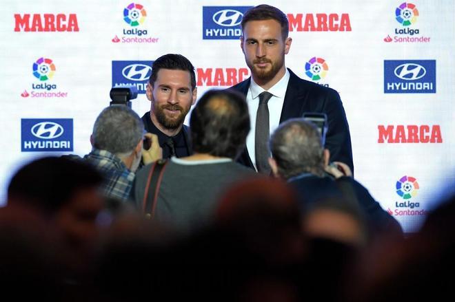 Messi, en los premios Marca:
