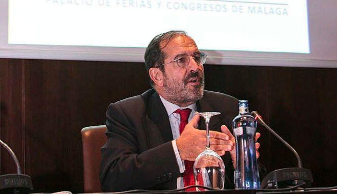Andrés Martínez Arrieta, en el X Congreso Jurídico de Abogacía, celebrado en Málaga en el año 2014