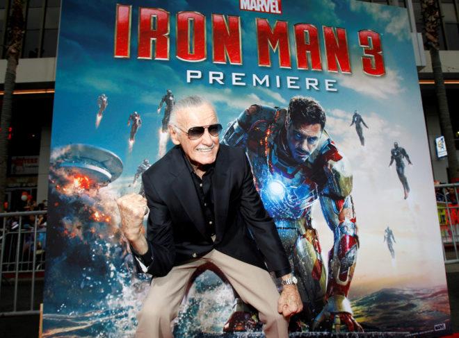 Stan Lee (1922-2018).