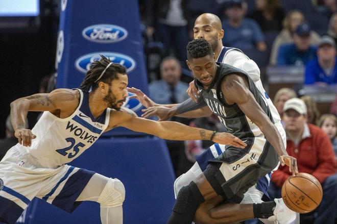 Escalofriante lesión de Caris LeVert, jugador de los Brooklyn Nets