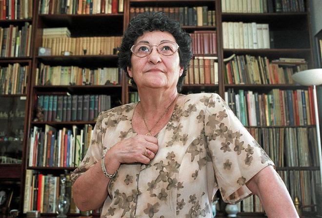 Francisca Aguirre, en 2000.