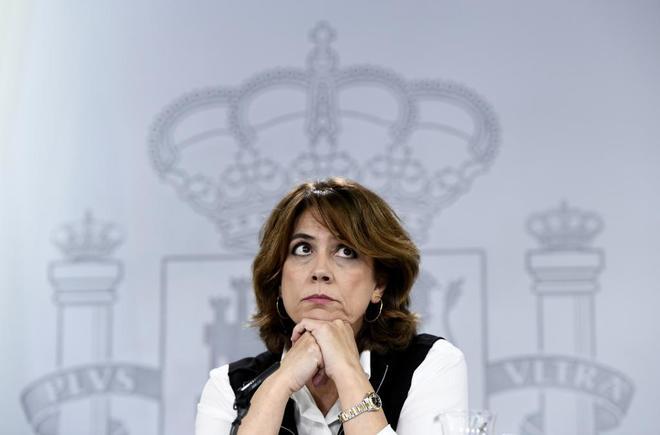 La ministra de Justicia Dolores Delgado.