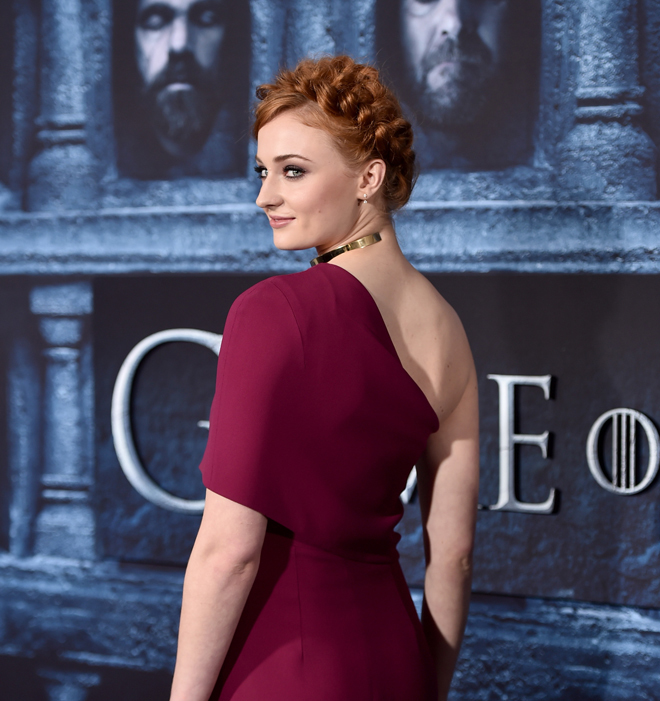 Sophie Turner actriz que da vida a Sansa Stark